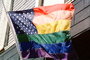 Rainbow Flag, United States of America, American, USA, Fifty State Flags, GFLV01P12_19