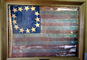 Original Thirteen Colonies Flag, Betsy Ross, General Schuyler's Flag, Fort Ticonderoga, GFLV02P04_19
