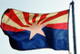Arizona, State Flag, USA, Fifty State Flags, GFLV02P05_09
