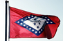 Arkansas State Flag, USA, Fifty State Flags, GFLV02P05_10