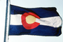 Colorado, State Flag, USA, Fifty State Flags, GFLV02P05_15