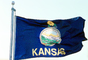 Kansas, State Flag, Fifty State Flags, GFLV02P07_02