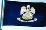 "Louisiana State Flag, ""Union Justice and Confidence"", Fifty State Flags, GFLV02P07_06"