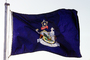 Maine, State Flag, Dirigo, Fifty State Flags, GFLV02P07_07
