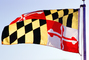 Maryland, State Flag, Fifty State Flags, GFLV02P07_11
