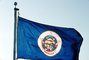 Minnesota State Flag, Fifty State Flags, GFLV02P07_16
