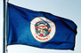 Minnesota, State Flag, Fifty State Flags, GFLV02P07_18