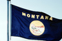 Montana, State Flag, Fifty State Flags, GFLV02P08_07