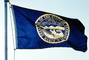 Great Seal of the State of Nebraska, State Flag, Fifty State Flags, GFLV02P08_08