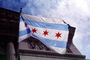 City of Chicago Flag, GFLV03P08_01