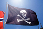 Jolly Roger Pirate Flag, Pirate, Skull and Crossbones, Bones, GFLV03P08_14