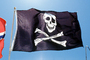 Jolly Roger, Pirate Flag, Pirate, Skull and Crossbones, GFLV03P08_15