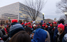 Trump Inauguration Day, 20/01/2017, crowds, buildings, hats, GNUD01_041