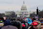 Trump Inauguration Day, 20/01/2017, Crowds look on, GNUD01_063