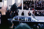 Inauguration of Lyndon Baines Johnson, LBJ, 1964, 1960's, GNUV01P02_09