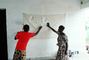 Teaching Mothers Basic Health Care for their Children, Well Baby Clinic, Bobo-Dioulasso, HOFV01P03_11