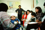 Teaching Mothers how to take care of their Children, Well Baby Clinic, Colonia Flores Magon, HOFV01P08_13