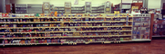 Pharmacy, Racks, Retail, Panorama