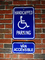 Handicapped Zone, symbol, HPWD01_002