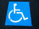 Handicapped Zone, symbol, HPWD01_003