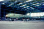 Concorde mock up being built, hangar