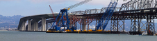Left Coast Lifter, Giant Floating Crane, Construction of the new Bay Bridge, Panorama, ICCD01_100
