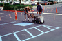 Painting a parking lot