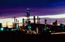 Oil Refinery, Grand Junction, Colorado, Refinery, Twilight, Dusk, Dawn, IPOV02P03_03