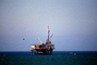 Oil Drilling Platform, Seal Beach, Offshore Rig, IPOV03P07_12