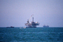 Oil Drilling Platform, Seal Beach, Offshore Rig, IPOV03P07_17
