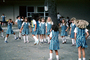 Jump Rope, Uniforms, schoolgirls, skipping rope, Danville, California, 1982, 1980's, KEDV01P02_04