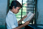 Reading in Classroom, Boy, Male, Book, Tween, classroom, Student, KEDV03P11_19