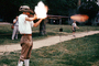 Patriot, Revolutionary War, firing a rifle, Concord, New Hampshire, American Revolution, War of Independence, History, Historical, Infantry, soldiers, musket, gun, firepower, smoke, flash