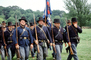 rifles, marching soldiers, infantry, Civil War, blue coats, The North