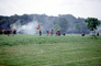 Confederates, flag, smoke, soldiers, Rifle, infantry, battle, Civil War, traitors