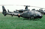 AFE, French Army, Aerospatiale Gazelle, Helicopter, VTOL