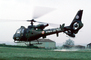 AFC, French Army, Armee de Terre, Aerospatiale Gazelle, Helicopter, VTOL