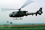AED, Armee de Terre, French Army, Aerospatiale Gazelle, Helicopter, VTOL, milestone of flight