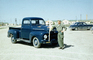 Pick-up truck, US Army Soldier, 1950's, MYAV06P02_19