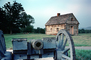 log cabin, Cannon, Revolutionary War, American Revolution, Battlefield, Continental Army, History, Historical, War of Independence, artillery, gun