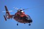Rescue Demonstration, HH-65 Dolphin, USCG, milestone of flight
