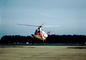 1374, USCG, SAR, HH-52A Seaguard, flying, flight, airborne, hover, hovering, USCG Helicopter
