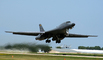 B-1 Lancer Taking-off, milestone of flight