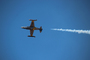 Canadair CT-133 Silver Star 3 (CL-30), smoke trails