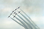 Smoke Trails, Canadian Snowbirds, formation flight, flying Airborne, MYFV02P12_13.1699
