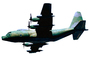 60224, Lockheed MC-130P Hercules, 66-0224, photo-object, object, cut-out, cutout, MYFV03P15_11F