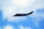 Lockheed F-117A Stealth Fighter in flight, flying, airborne, MYFV05P14_19