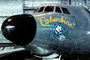 Radar Nose, Lockheed VC-121E Constellation, Columbine, flower Noseart, MYFV06P15_15