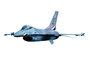 Lockheed F-16, photo-object, object, cut-out, cutout