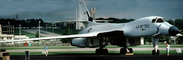 Rockwell B-1 Bomber, Lancer, Wright-Patterson Air Force Base, Fairborn, Ohio, Panorama, MYFV07P13_14B